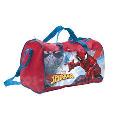 Spiderman Kinder Sporttasche Reisetasche Tasche Umhängetasche Disney