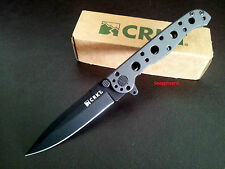 """CRKT 4"""" M16-01KS EDC Spear Point Frame Lock Folding Pocket Knife Tactical EDC"""