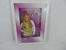 Disney Channel Hannah Montana Miley Cyrus 3-D Framed Art Work Shadow Box -VGC