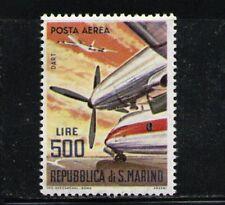SAN MARINO 1965 MNH Airmail SC.C127