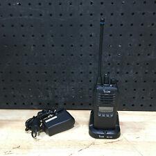ICOM IC-41 PRO BLACK 5W CB UHF TWO WAY RADIO HANDHELD + CHARGE DOCK