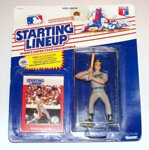 Starting Lineup Mark McGwire Offer MLB Baseball Figure Card KENNER 1988