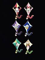 Disney DLR Cast Lanyard Series 3 Kite - Mickey Minnie Goofy Donald Daisy Pin