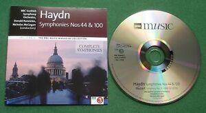 BBC Music Mag Vol 25 No 6 Haydn Symphonies 44 & 100 / Mozart Symphony 51 CD