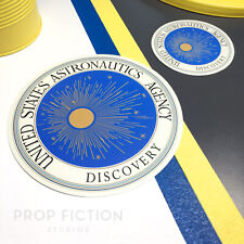 2001: A Space Odyssey - Prop USAA Discovery Stickers / Set Dressing Decals
