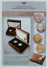 Nelson Mandela 5 Rand Commemorative Coin Set * Sealed Brand New* South Africa