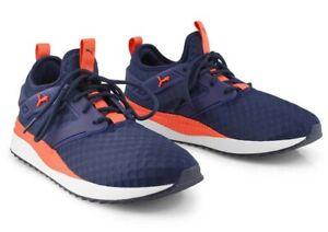NEW - PUMA Men's 'PACER NEXT EXCEL'  370009-09 Blue/Orange SNEAKER SHOES - 13