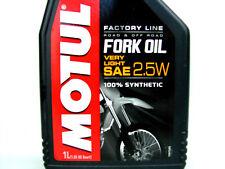 Motul Fork Oil 2.5W Gabelöl 1Liter Very Light Factory Line Dämpfungsöl Öl AKTION