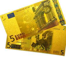 """★★ EUROPE : BILLET POLYMER  """" OR """" DU BILLET DE 5 EUROS ★★"""