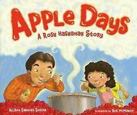 Apple Días : Un Rosh Hashanah Historia Imagen Libro Allison Sarnoff Soffer