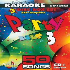 Party Hits vol-3 Chartbuster 5012 Karaoke 3 CD+G  in Case Includes Song List