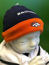 WH248 NFL Denver Broncos Baby Infant Beanie Hat 0-9 months Cute!