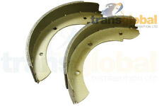 Land Rover Defender Handbrake Shoe Set (early rod type) to 94 - Bearmach STC965