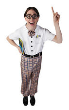 Boland Official Adult Mens Funny School Nerd Outfit Fancy Dress Party Costume