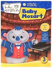 Baby Einstein Baby Mozart 1 Learning DVD Development Book Video Spanish French