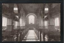 Stockton on Tees Interior of the Parish Church 1920's ? Postcard ~ Co Durham