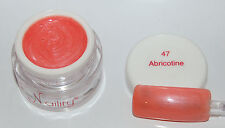 Color Gel  UV/LED/CCFL 7ml Abricotine Naility USA  N°47 soak off