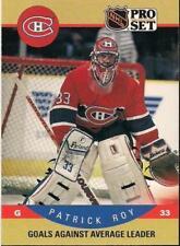 1990-91 PRO SET # 399 PATRICK ROY !!