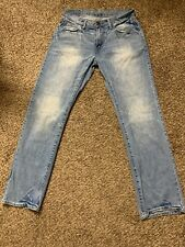 American Eagle Original Straight Jeans Size 32/34