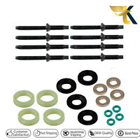 Fuel Injector Seal Washer O-Ring Kit for PEUGEOT EXPERT 1.6 HDI 2004 on