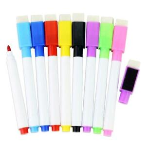 1pcs Magnetic Whiteboard Pen,Markers Erasable Drawing Recording Magnet BEST