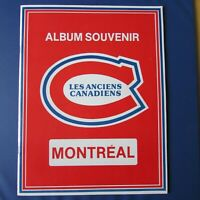 MONTREAL CANADIENS  OLD TIMERS Album  JEAN BELIVEAU HENRI & MAURICE RICHARD 1979