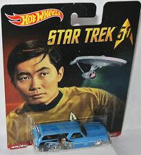 Star Trek - 1970 CHEVY CHEVELLE DELIVERY * HIKARU SULU * - 1:64 Hot Wheels