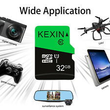 Kexin 1 Pack TF Card 32GB Micro SDHC UHS-I Class10 Super Speed Transit to 80MB/s