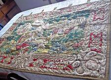 "Romantic Large Tapestry - 30"" x 48"" - EC"