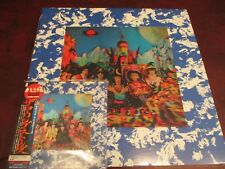 ROLLING STONES SATANIC REQUEST RARE JAPAN OBI CD W/ ORIGINAL STICKERS+VINYL/SACD