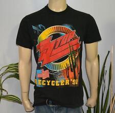 RaRe *1991 ZZ-TOP & BLACK CROWES* vintage rock concert tour t-shirt (L) 80s 90s