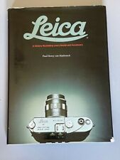 Leica,A History, by Paul-Henry Van Hasbroeck, 1985, Hardcover