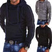 G.B.D. Kapuzenpullover Zipper Sweat Jacke Pullover Hoodie Schwarz/Grau/Navy NEU