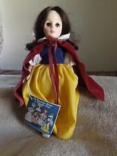 Vintage Snow White Doll 1976 Effanbee With Original Tag Disney Character Doll