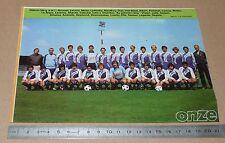 CLIPPING POSTER FOOTBALL 1980-1981 D2 TOULOUSE Téfécé TFC