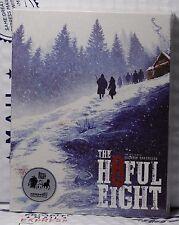 THE HATEFUL EIGHT BLU-RAY STEELBOOK! KIMCHI #42 FULL SLIP+OST! TYPE A! IN STOCK!