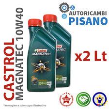 2 LITRI DI OLIO MOTORE ORIGINALE CASTROL MAGNATEC 10W40