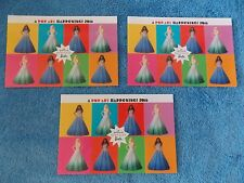 Lot of 3 2016 Barbie Doll Convention Hallmark Pop Art Happening Card