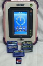 Vtech InnoTab Learning Educational Tablet 5 Games & Carrying Case Tested