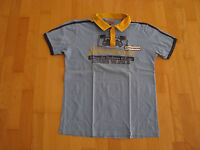 Jack & Jones Herren Polo Shirt Gr. M blau kurzarm Vintage Denim Joe`s Carwash