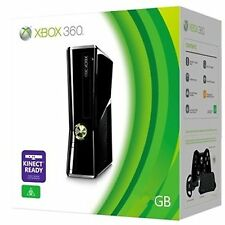 Xbox360 4GB Slim Console (PAL) Matt Black