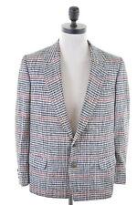 YVES SAINT LAURENT Mens 2 Button Blazer Jacket Size 38 Medium Multi Silk