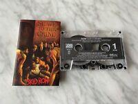 Skid Row Slave To The Grind CASSETTE Tape 1991 Atlantic 7 82242-4 Hair Metal OOP