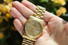 Swiss Bulova Super Seville Day Date Automatic Watch 1980 Vintage