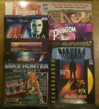 9 - Sammlungsauflösung Laserdisc - 10x Filme auf LD - Phantom, Gattaca, Girls ..