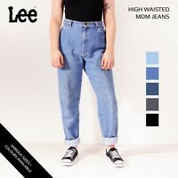 VINTAGE LEE HIGH WAISTED WOMENS RELAXED TAPERED MOM JEANS 26 27 28 29 30 32 34