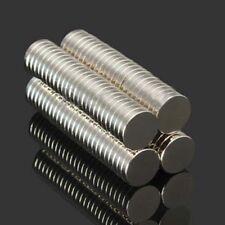 100Pcs N52 10X2mm Super Strong Round Disc Fridge Rare Earth Neodymium Magnets