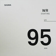 Sigma 95mm UV WR Coating Lens Filter - New & Sealed UK Stock
