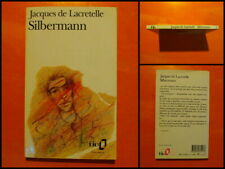 Silbermann par Jacques Lacretelle. Roman Folio Gallimard N° 417