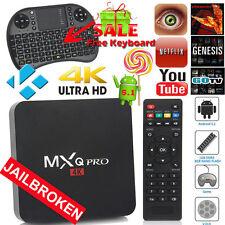 HD 4K Android Mini PC TV Box Latest 17.1 Media Player HDMI WiFi KEYBOARD LOADED